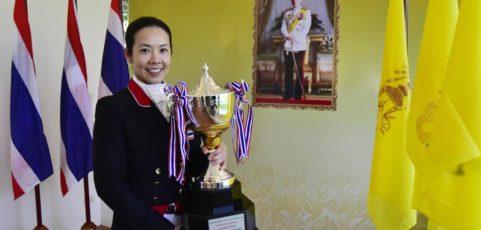 Pak en haar studenten succesvol bij Thailand Kings Cup